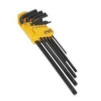 S01096 Sealey Siegen 9pc Extra-Long TRX-Star* Key Set