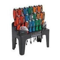 S01106 Sealey Siegen 44pc Hammer-Thru Screwdriver,...