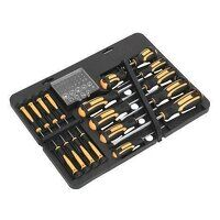 S01110 Sealey Siegen 60pc Screwdriver Bit Set