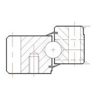 SEG5052001AALM Solid Section Light Series Slewing ...