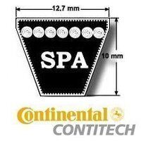 SPA1657 Wedge Belt (Continental CONTITECH)
