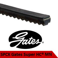 SPC3550MN / SPCX3550 Gates Super HC Moulded Notch Belt (Please enquire for product availability/lead time)