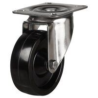 SS100LV4HT 220 Stainless Steel High Temperature Resistant Castor - Swivel 4 Bolt Hole Unbraked