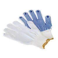 SSP51 Sealey PVC Anti-Slip Nylon Knitted Gloves