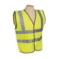 SSPHV-L Sealey Large High Visibility Waistcoat EN ISO 20471