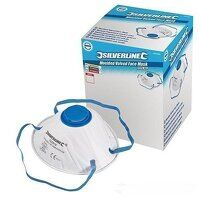 Silverline Respirator Moulded Valved FFP...