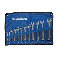 Silverline Combination Spanner Set 6-22mm 12pce (633799)