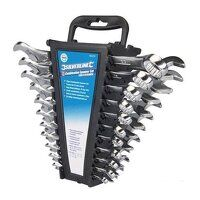 Silverline Combination Spanner Set 6-22mm & 1/4-7/8inch 22pce (633470)