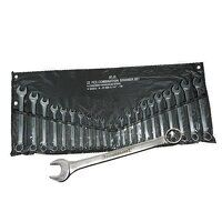 Silverline Combination Spanner Set 6-22mm & 1/4-7/...