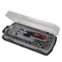 Silverline Compact Socket Set 39pce (633754)