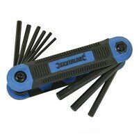 Silverline Hex Key Imperial Expert Tool 9pce (763580)