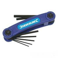 Silverline Hex Key Imperial Tool 7pce (5...