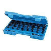 Silverline Impact Socket Set 35pce (633802)