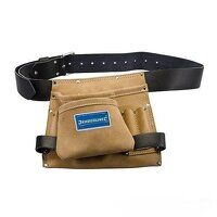 Silverline Leather Nail & Tool Bag 8 Pocket (675030)