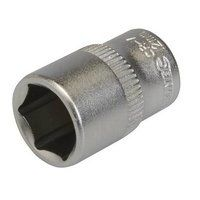 Silverline Socket 1/4inch Drive Metric 12mm (889318)