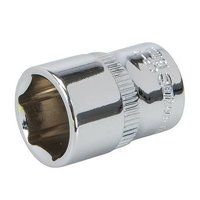 Silverline Socket 1/4inch Drive Metric 13mm (56894...