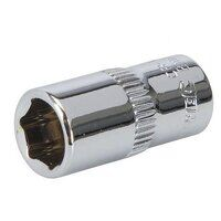 Silverline Socket 1/4inch Drive Metric 8mm (545489...