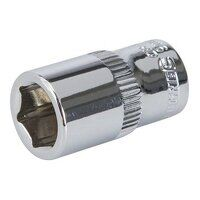 Silverline Socket 1/4inch Drive Metric 9mm (938967...