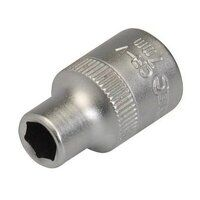 Silverline Socket 3/8inch Drive Metric 6mm (818672...