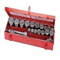 Silverline Socket Set 3/4inch Drive Metric 21pce (...