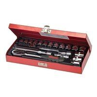 Silverline Socket Wrench Set 3/8inch Drive Metric ...