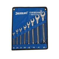 Silverline Whitworth Spanner Set 1/8-9/1...