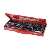 Socket Wrench Set 1/2inch Drive Metric/AF 42pce (2...