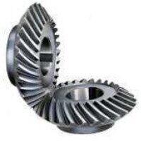 Spiral Mitre Gears - Steel