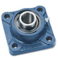 FY30TF 30mm Bore Square Flange with Grub Screws