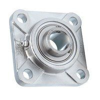 SSUCF207 35mm LDK Stainless Steel 4 Bolt Bearing