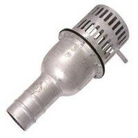 Strainers - Hose Tail Foot Valve Strainer, Galvanised