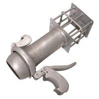 LLSS6 159mm Steel Galvanised Sewage Strainer