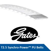 T2.5-145-10 Gates Synchro-Power PU Belt (Please en...