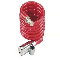 1950/120 Recoil Keyed Cable Lock Coloured 120cm x ...
