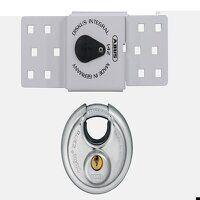 142 Series Sliding Door Van Lock & 23/70mm Diskus® Padlock