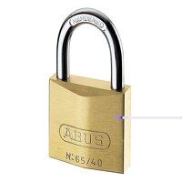 65/40mm Brass Padlock Master Keyed MK65401