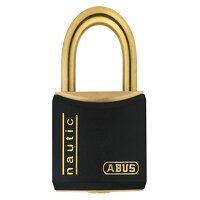 T84MB/40mm Black Rustproof Padlock Keyed Alike 840...