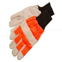 CH015 Chainsaw Safety Gloves - Left Hand protectio...