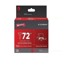 T72 Clear Insulated Staples 5 x 12mm Box...