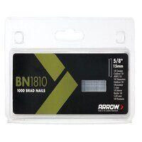 BN1810 Brad Nails 15mm Pack 1000