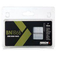 BN1816B Brad Nails 25mm Brown Head Pack ...