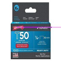 T50 Staples Stainless Steel 504SS 6mm (1/4in) Box ...