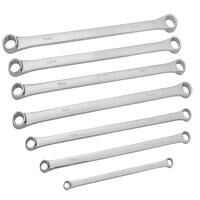 Extra Long Ring Spanner Set, 7 Piece