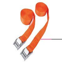 Cam Buckle Tie-Down Straps Twin Pack 2.5m