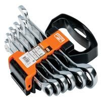 1RM Ratcheting Combination Wrench Set, 6 Piece