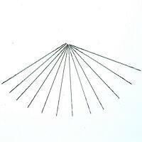 302-83S-12P Spiral Fret Saw Blades Medium 130mm (5...