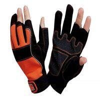 Carpenter's Fingerless Gloves - Large (Size 10)