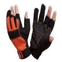 Carpenter's Fingerless Gloves - Medium (Size 8)