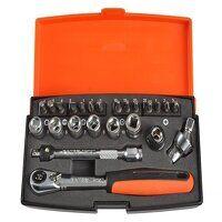 SL24 Socket Set of 24 Metric 1/4in Drive