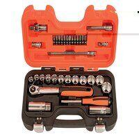 SL34 3/8in Drive Socket & Mech Set of 34...
